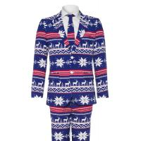 OppoSuits THE RUDOLPH Anzug blue