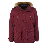 Burton Menswear London HERCULES Parka burgundy