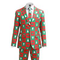 OppoSuits TREEMENDOUS Anzug red/green