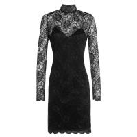 The Kooples Lace Cocktail Dress - Schwarz