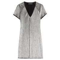 Zadig & Voltaire Metallic Mini Dress - Silber