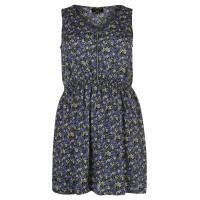 New Look Inspire WILLIAM DITSY Blusenkleid black/blue